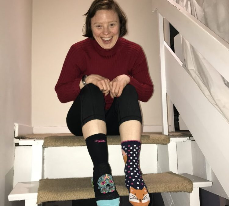 Celebrating Down Syndrome Awareness with our patron Sarah Gordy MBE